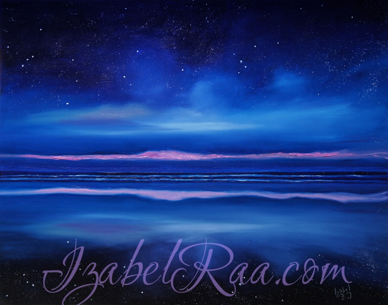 """Breath of Eternity"". Oil painting on canvas."