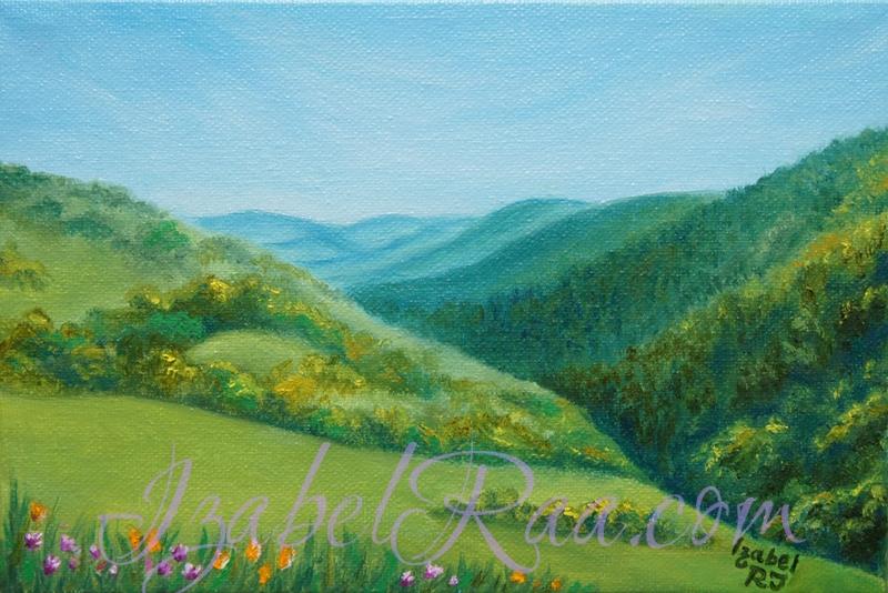 """Eldorado"". Oil painting on canvas."