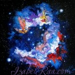 """Nebula"". Oil painting on canvas."