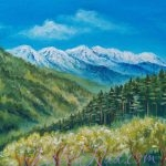 """The Magic of the Himalayas"". Oil painting on canvas"
