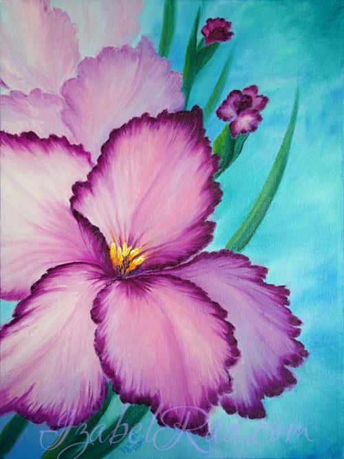 Acceptance, or Flowers of Joy. Izabel Raa