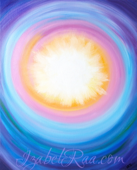 """Solstice-2017"" (""Солнцестояние-2017""). Oil painting on canvas. © Izabel Raa, 2017"