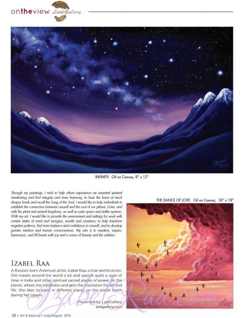Art&Beyond / Izabel Raa