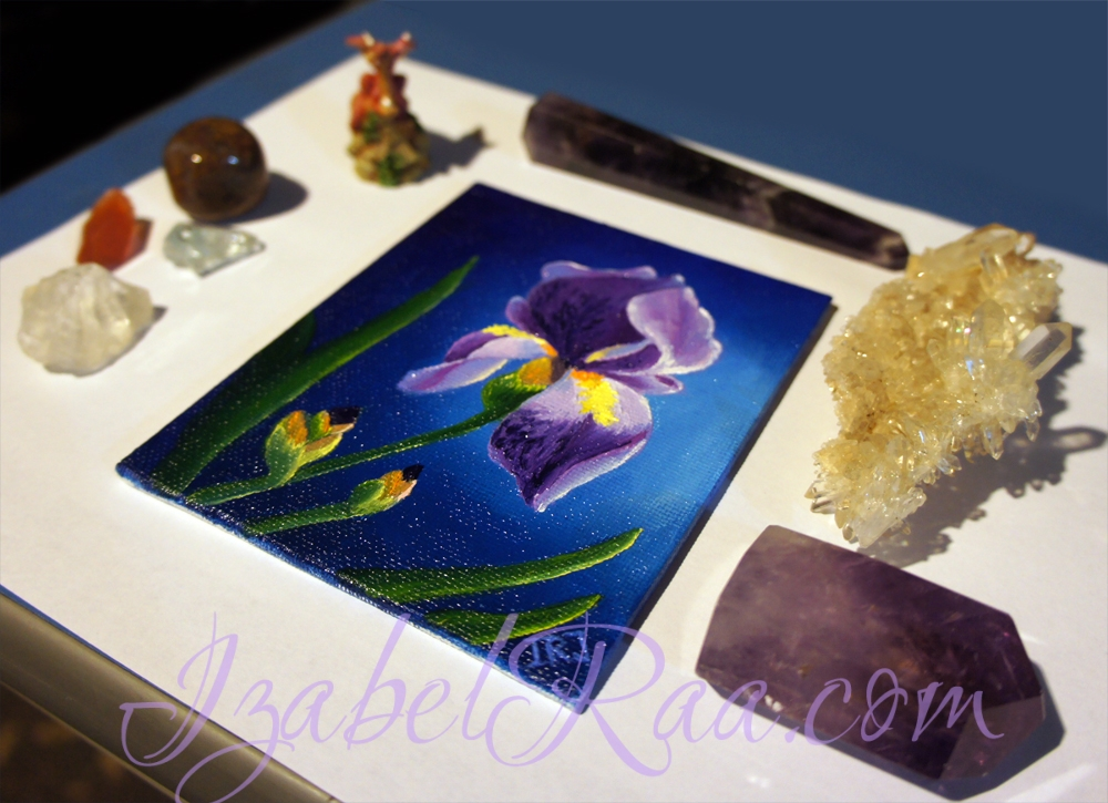 """Iris"" and crystals"