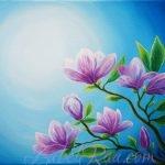 """Breath of Spring"" (""Дыхание весны""). Oil painting on canvas. © Izabel Raa, 2020"