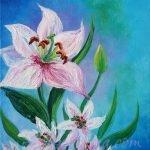 """Spring Kisses"" (""Поцелуи весны""). Oil painting on canvas. © Izabel Raa, 2020"